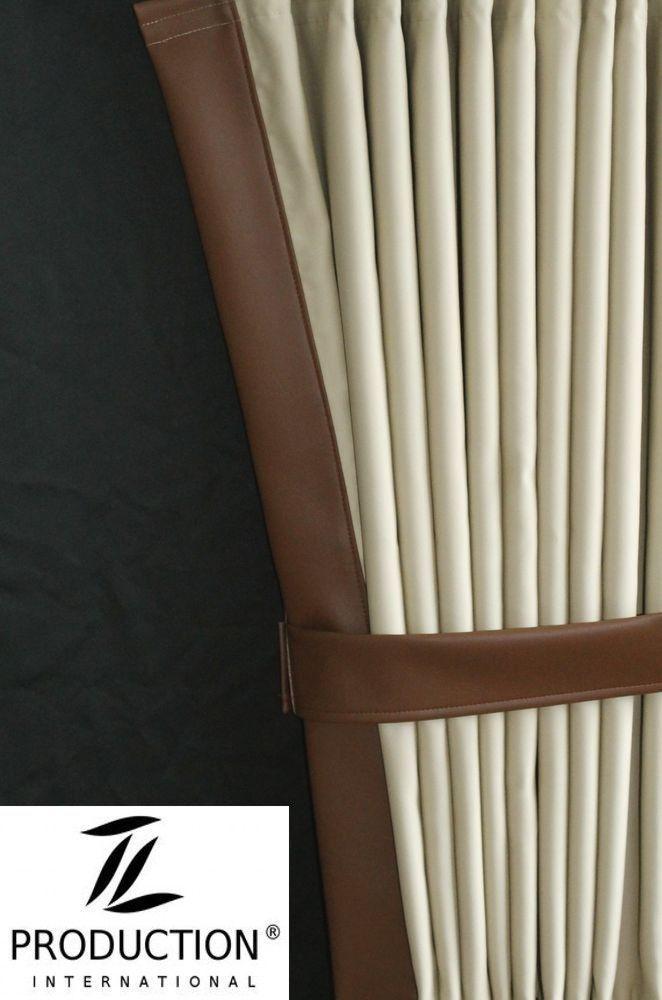 Lkw scheiben gardinen mit kunstlederkante passend man tgx xxl for Xxl gardinen