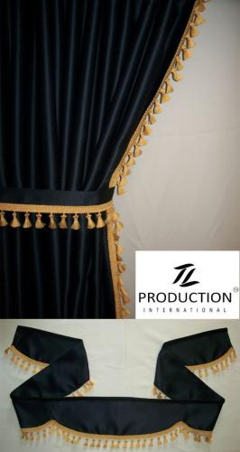 exclusive lkw gardinen passend f r man tgx xlx als lkw zubeh r. Black Bedroom Furniture Sets. Home Design Ideas