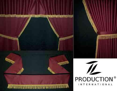 lkw gardinen und truck vorh nge als zubeh r passend man tgs lx. Black Bedroom Furniture Sets. Home Design Ideas